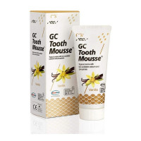 GC Tooth Mousse Vanilla гель для укрепления эмали без фтора, 35 мл