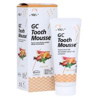 GC Tooth Mousse Tutti Frutti гель для укрепления эмали без фтора, 35 мл