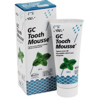GC Tooth Mousse Mint гель для укрепления эмали без фтора, 35 мл