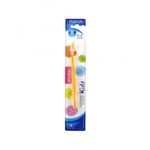 Inava Brushing & Care Kids детская зубная щетка 2-6 лет (03)