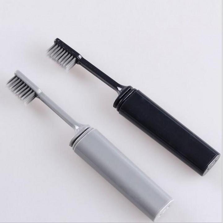Azdent зубная щетка для путешествий серая