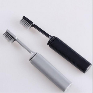 Azdent зубная щетка для путешествий черная