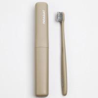 PARAQUAT Мягкая зубная щётка в дорожном футляре, коричневая