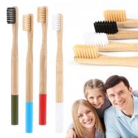 Бамбуковая зубная щетка мягкая, синяя