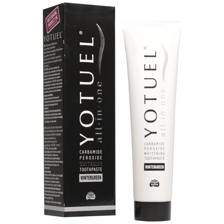 Yotuel All in One Whitening Wintergreen Toothpaste отбеливающая зубная паста, 75мл