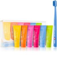 Curaprox BE YOU Набор зубных паст из шести вкусов и зубная щетка CS Ultra Soft 5460 (03)