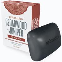 Schmidt's Cedarwood + Juniper натуральное твердое мыло 142гр.