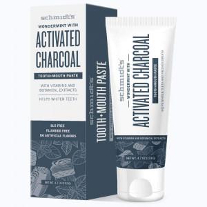 Schmidt's Activated Charcoal зубная паста с активированным углем 100мл.