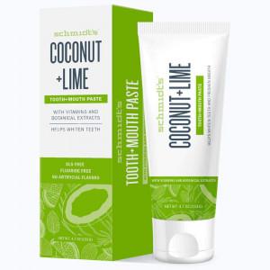 Schmidt's Coconut + Lime зубная паста с кокосом и лаймом 100мл.
