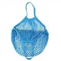 Эко-сумка из сетки Авоська, Синяя