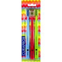 CURAPROX 5460 Ultra Soft Набор ультра мягких зубных щеток 3шт. (14)
