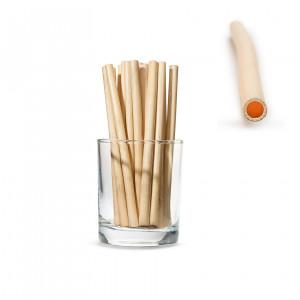 Трубочки SMALL для напитков из камыша, короткие 14см (250 шт.)