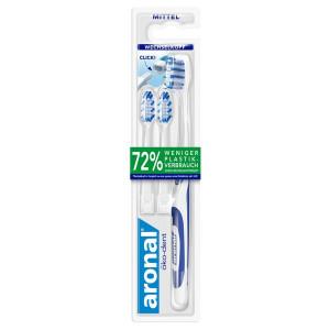 Aronal Зубная щетка Medium со сменными головками, 3шт