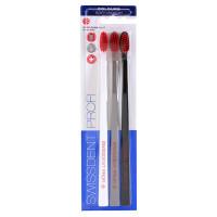 SWISSDENT Colours Trio Набор зубных щеток средне-мягких 3шт. (03)