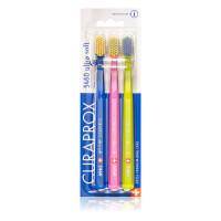 Курапрокс 5460 Ultra Soft Набор ультра мягких зубных щеток 3шт. (19)