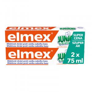 Elmex Junior детская зубная паста (от 6 до 12 лет) 2*75мл