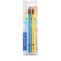 CURAPROX 5460 Ultra Soft Rainbow LE Набор ультра мягких зубных щеток 2шт.
