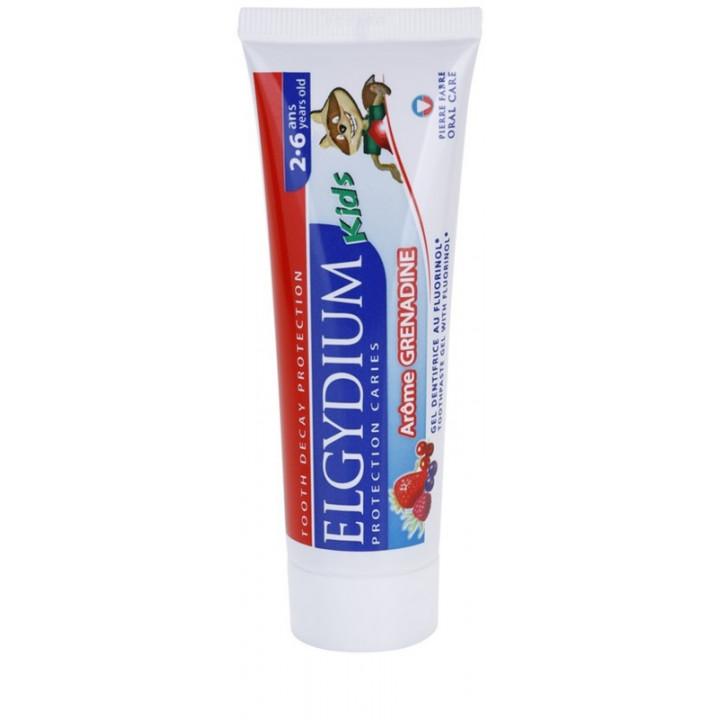 ELGYDIUM Kids зубная паста для детей 2-6 лет лесные ягоды