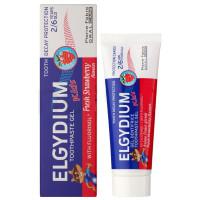 ELGYDIUM Kids зубная паста для детей 2-6 лет клубника, 50 мл