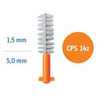 CURAPROX Regular Refill CPS14Z Ёршики для ортодонтических конструкций и брекет-сиситем 5шт.