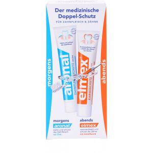 Aronal und Elmex Набор зубных паст 2x75мл