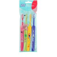 TEPE Kids детские зубные щетки extra soft 4шт