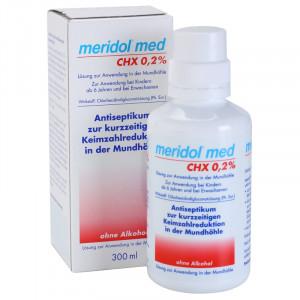 Meridol Med CHX 0,2% Антисептическая жидкость для полоскания рта 300 мл