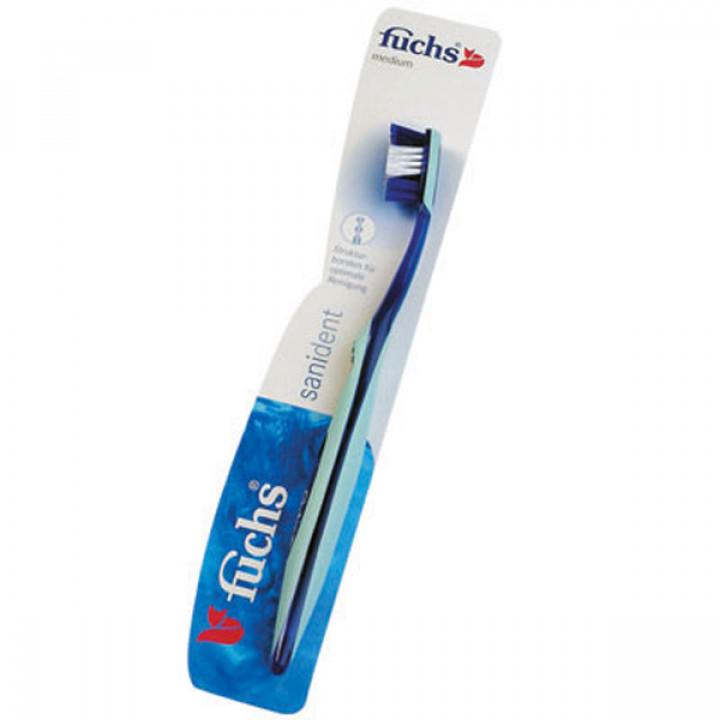 Fuchs Sanident Medium зубная щетка со средней жесткостью