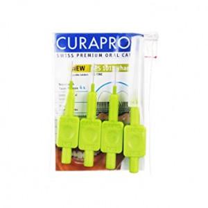 CURAPROX Prime Handy CPS 011 Межзубные ёршики 4шт.на держателях +  защитный колпачок