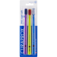 Curaprox  Super Soft CS3960 Набор зубных щеток 3 шт (02)
