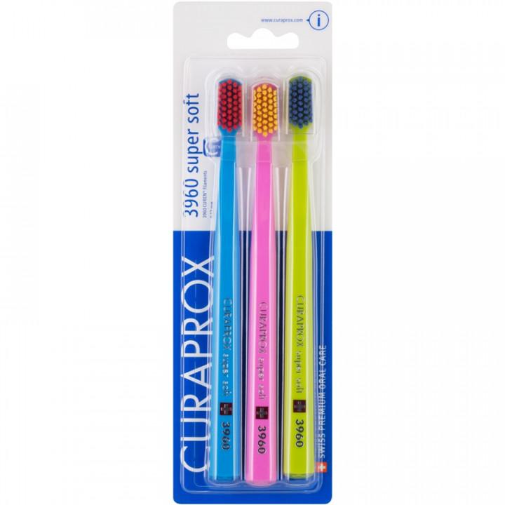 Curaprox  Super Soft CS3960 Набор зубных щеток 3 шт (03)